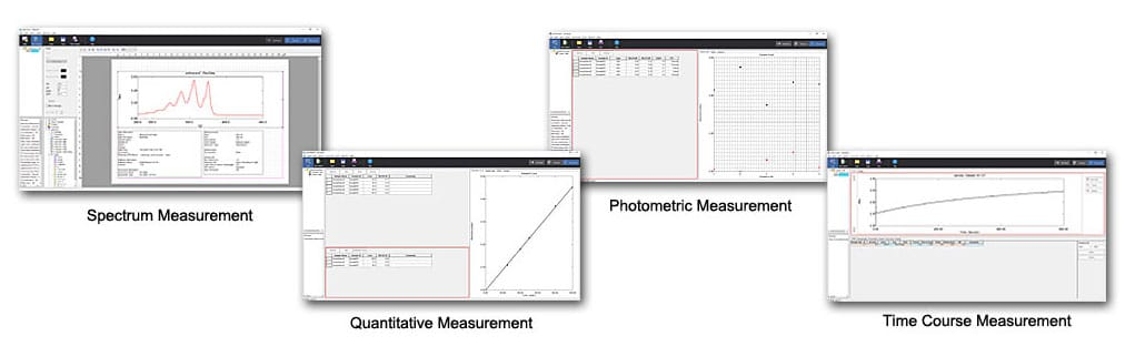 LabSolutions UV-Vis Software Measurement Modes